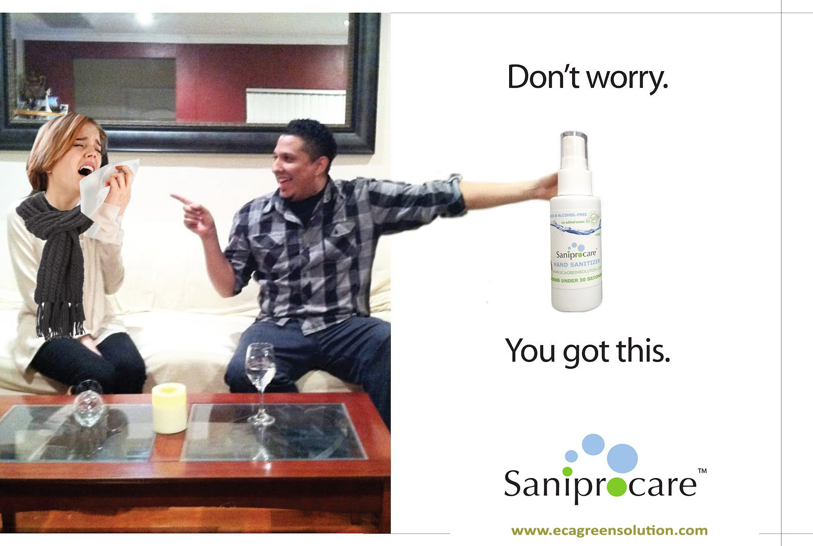 Saniprocare Hand Sanitizer Will Protect You From Common Cough And