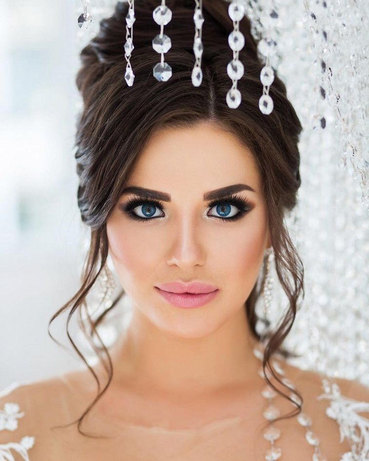 10 perfect bridal makeup - Romantic bridal makeup looks #weddingday #makeup #bridalmakeup #bride