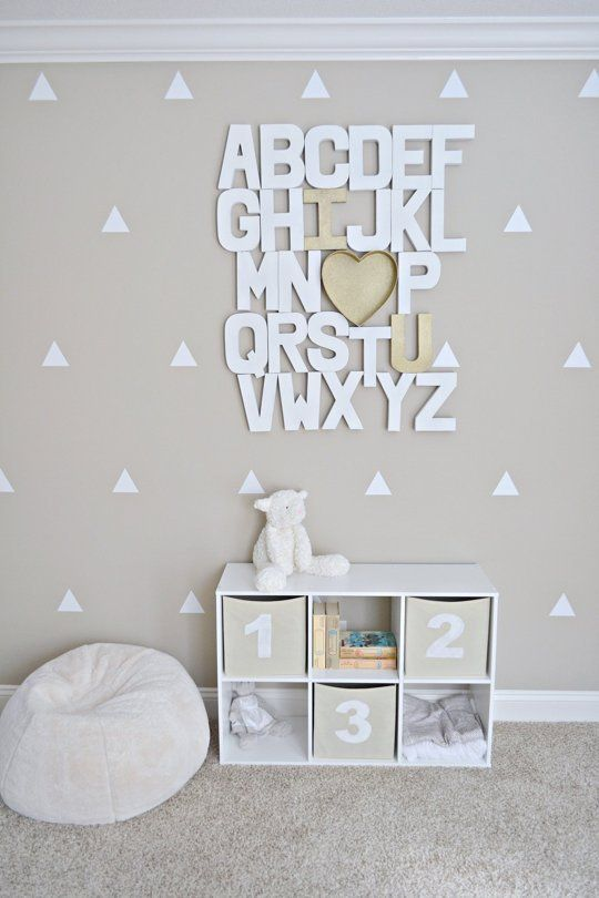 Diy Modern Photo Wall Project Nursery Wall Art