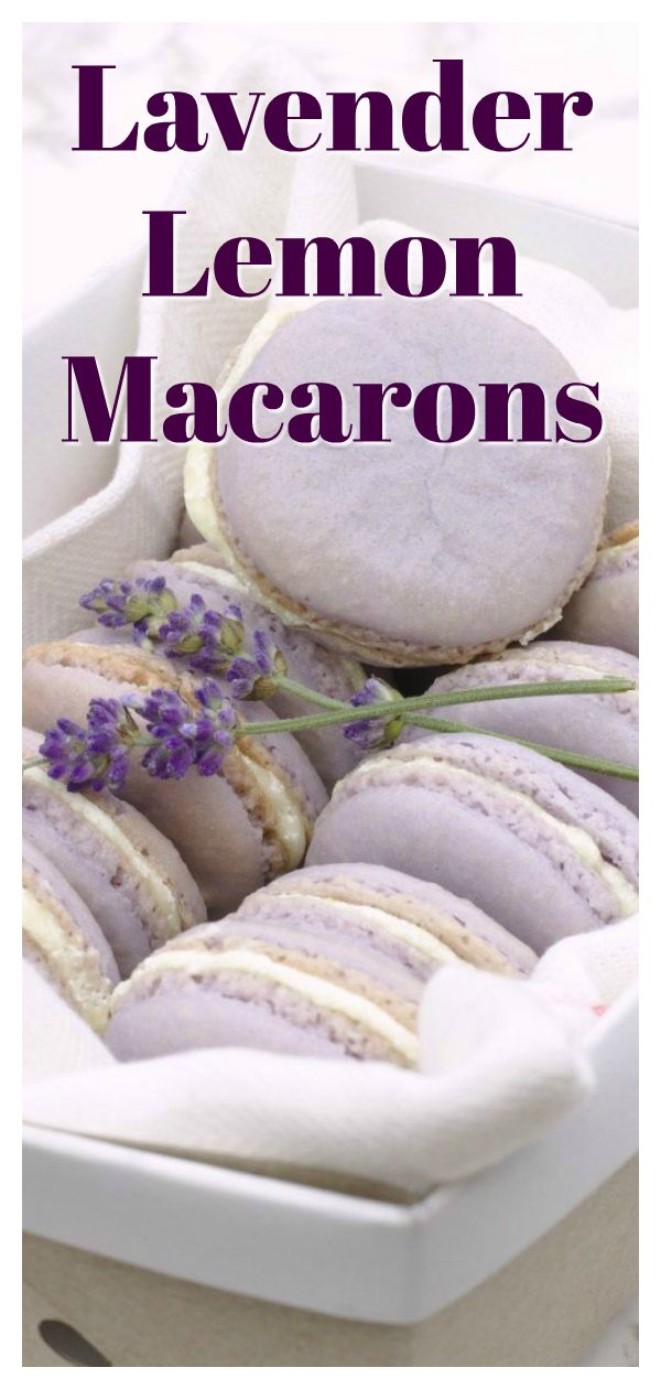 Photo of Lavender Lemon Macarons Recipe – Mildly Meandering