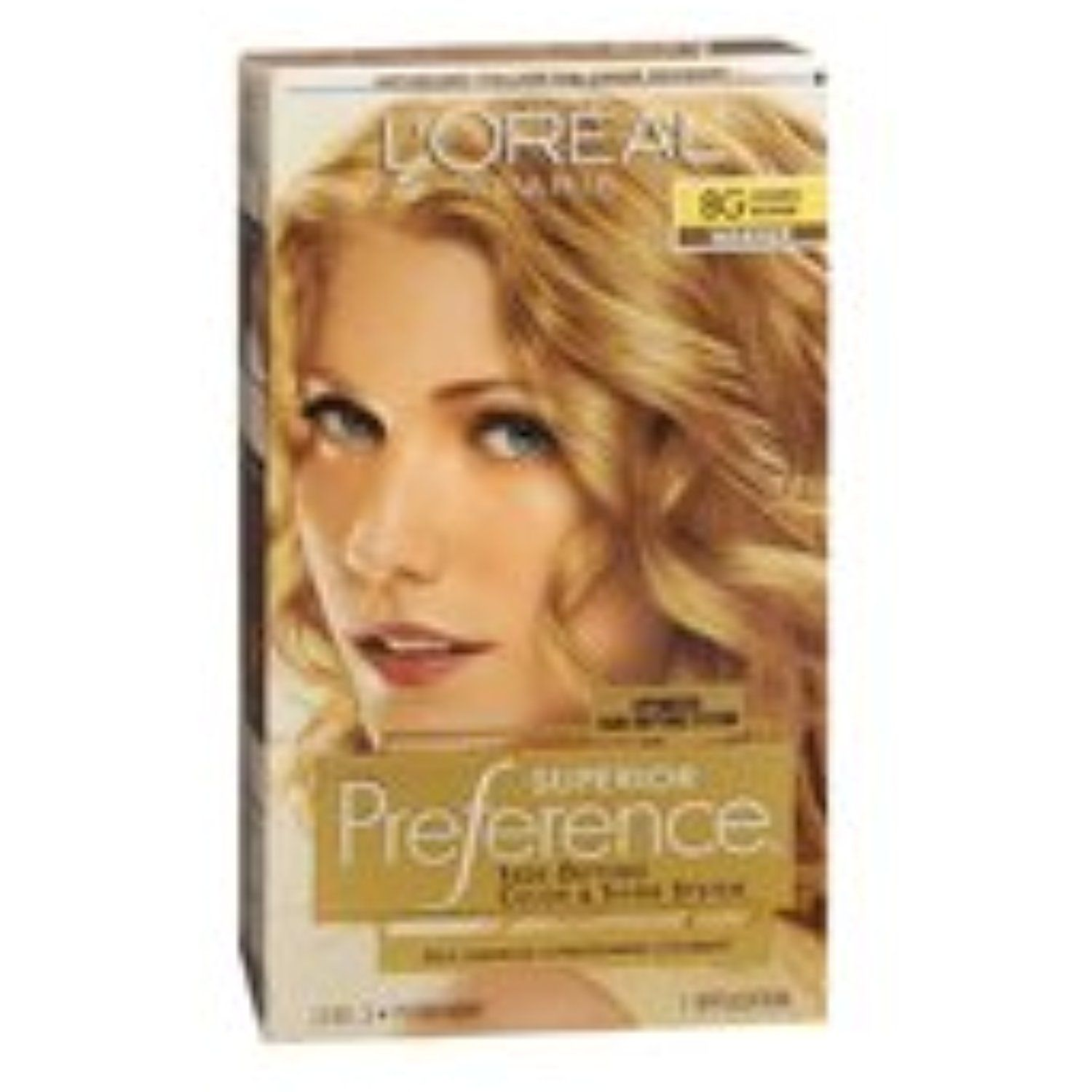 Pref Haircol 8g Size 1ct Loreal Preference Hair Color Golden Blonde