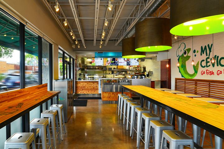 My Ceviche Fast Food By Id Design International Miami Florida Retail Design Blog Restaurant Interior Design Restaurant Interior Restaurant Design