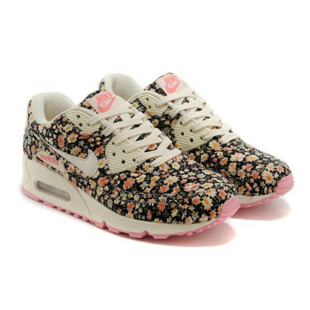 BRAND NEW no box Nike AirMax Brand new black floral nikes. These r so cute  and flirty! LESS ON Ⓜ️erc Nike Shoes Athletic Shoes
