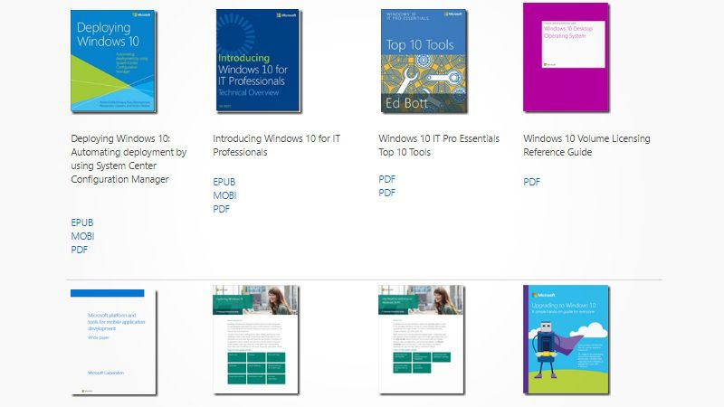 Download A Mass Of 240 Free Technical Ebooks From Microsoft With