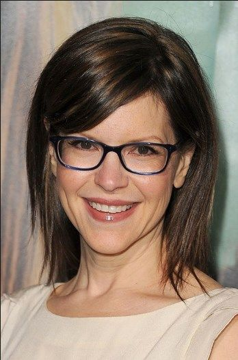 Shoulder Length Hairstyles Over 50 With Glasses Hair Ideas