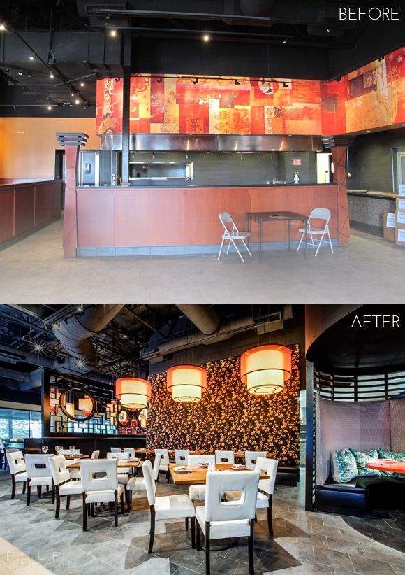 Before And After By Pulp Design Studios In Our Latest Restaurant Interior Project