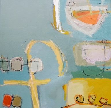 Orange Boat by Stephanie Stow