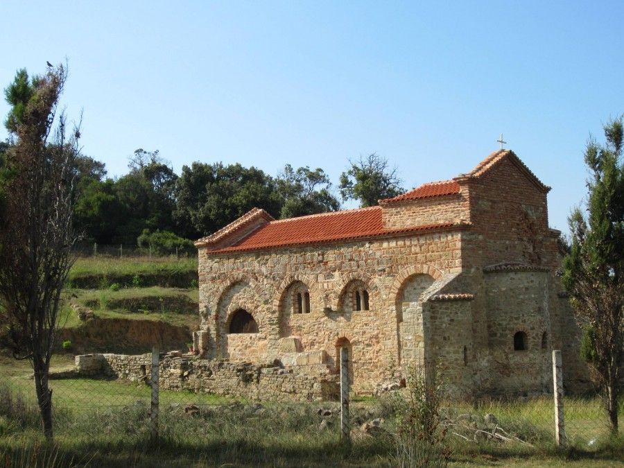 Roman church in Albania