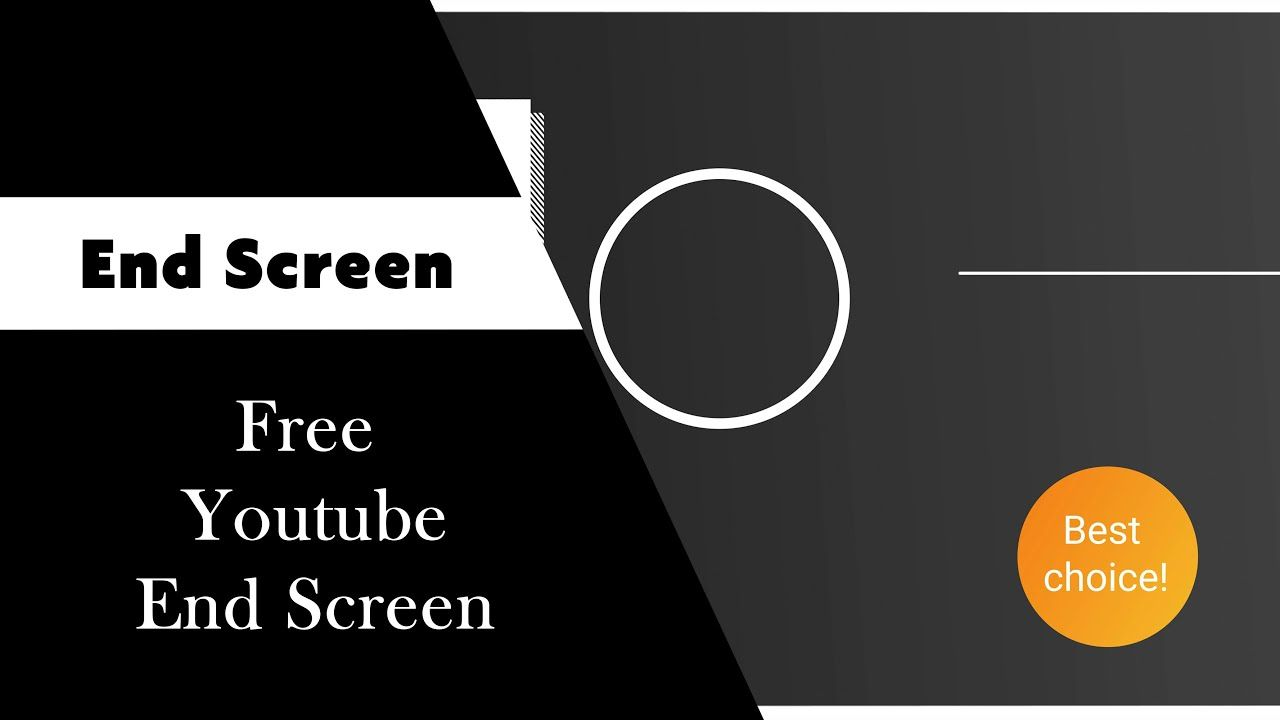 Pin By Ckcreations On End Screen In 2021 Free Youtube Screen Free Video Editing