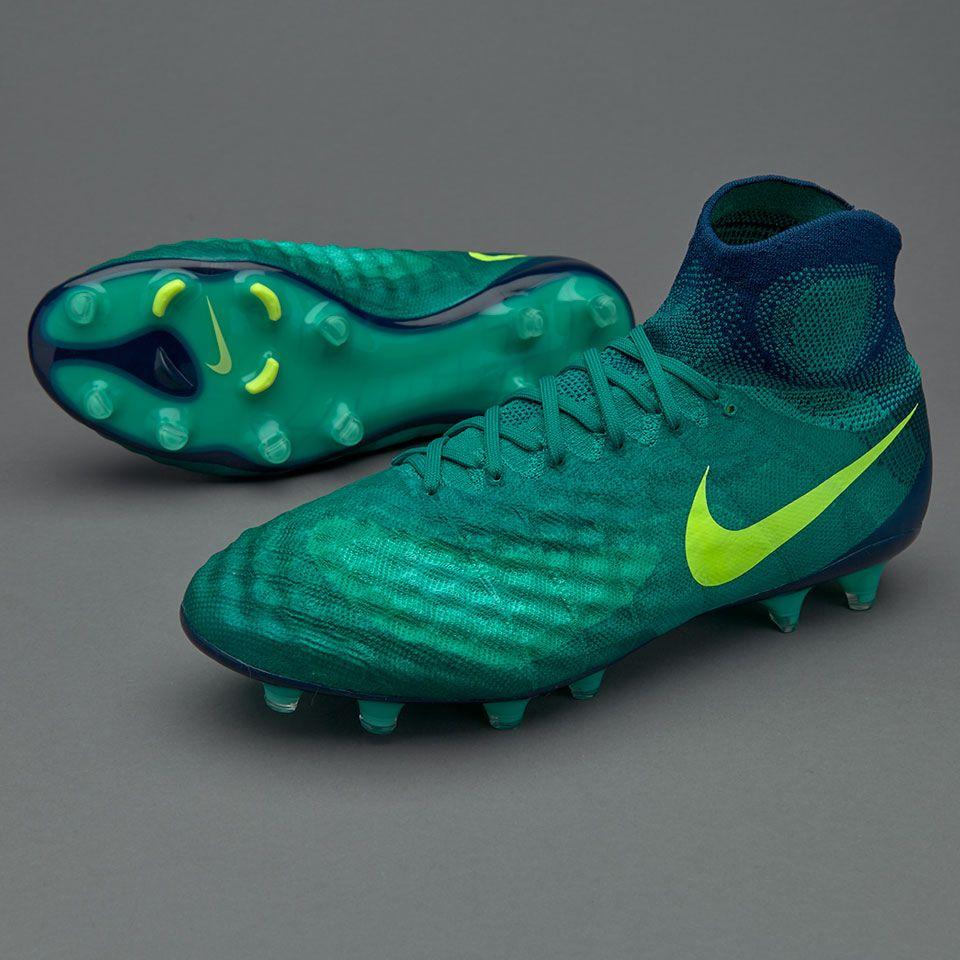 d601f3160a1ef Nike Magista Obra II FG - Rio Teal Volt Obsidian Clear Jade