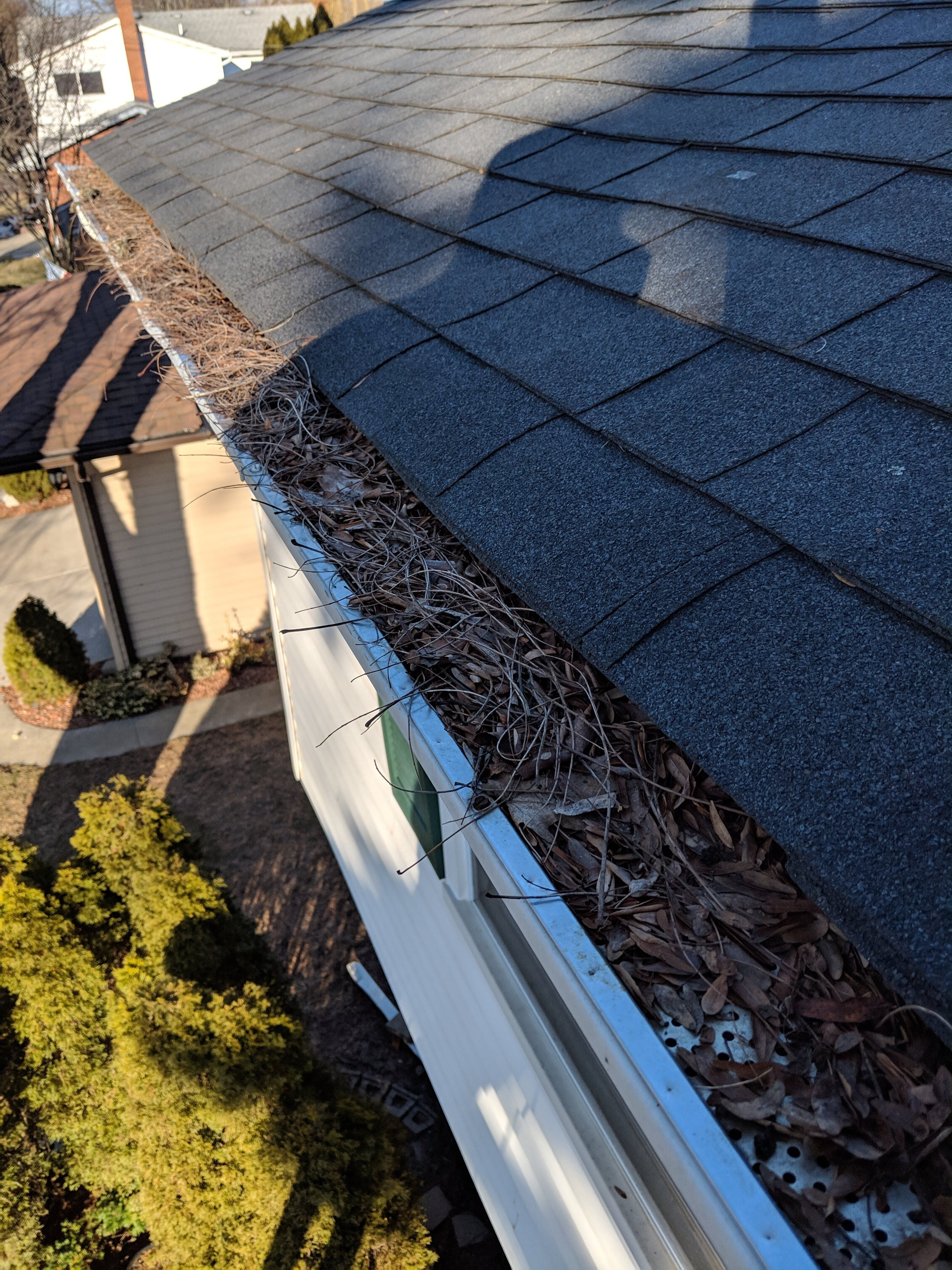 Be Sure To Clean Your Gutters To Avoid Any Possible Damage To Your