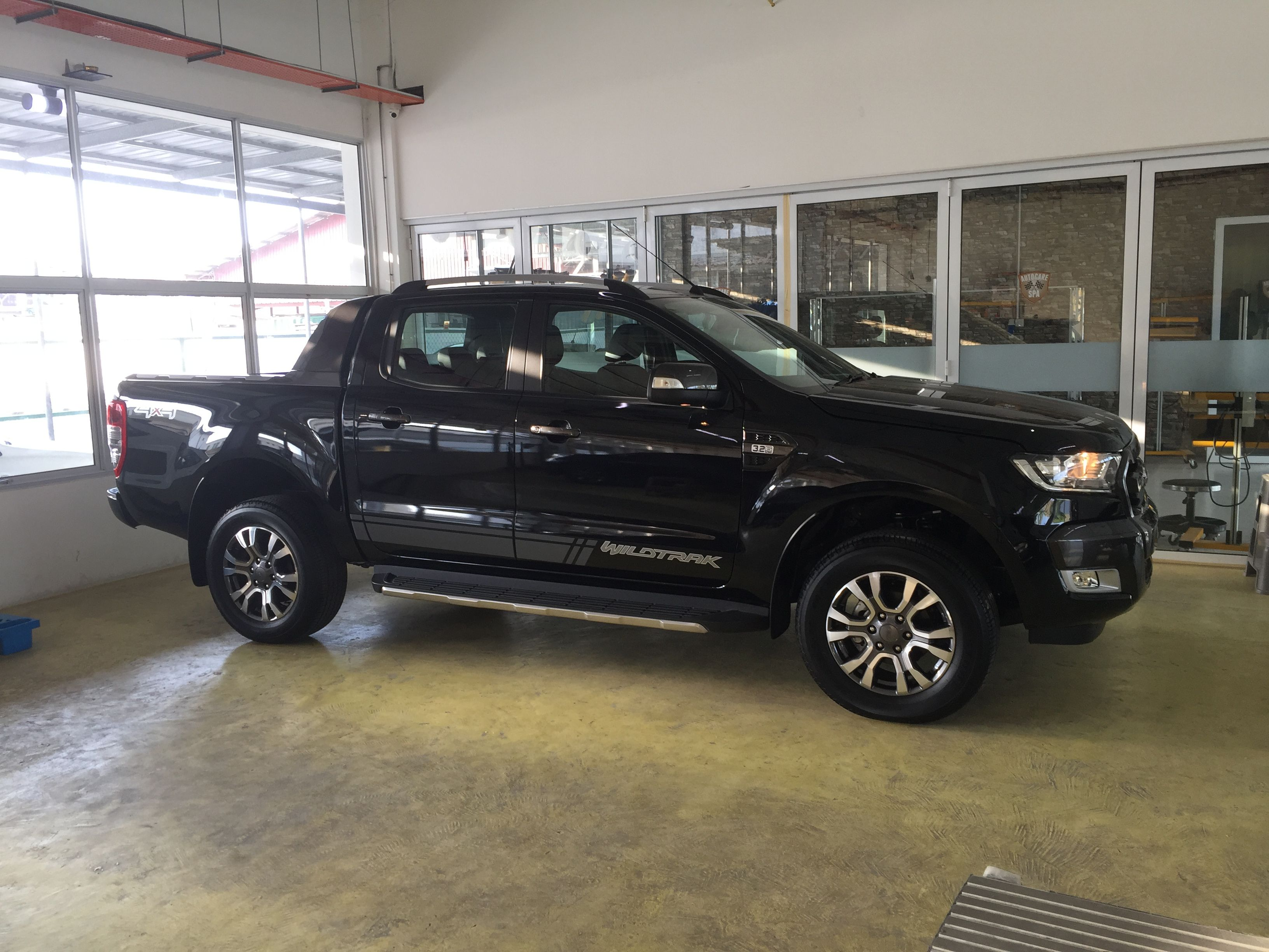 Ford Ranger Wildtrak Limited Edition Jet Black
