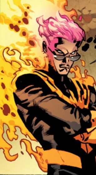 Phoenix Quentin Quire Xmen Comics Man Thing Marvel Superhero Comic