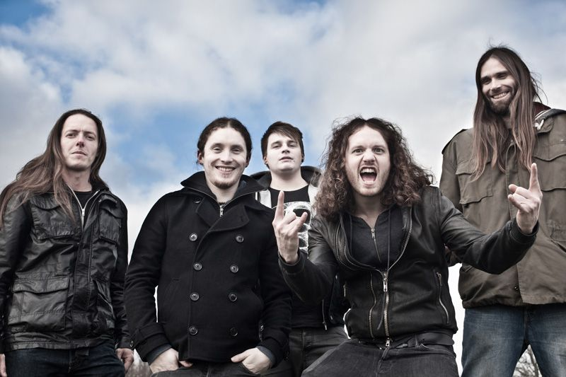 Tesseract Woo I Love This Band And Everyone In It Especially The Drummer Second From Left Who Is Also Named Jay Foreshadowing Animals Leader Tours