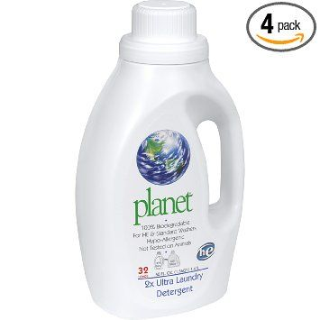 Amazon Com Planet 2x He Ultra Laundry Liquid Detergent 32 Loads