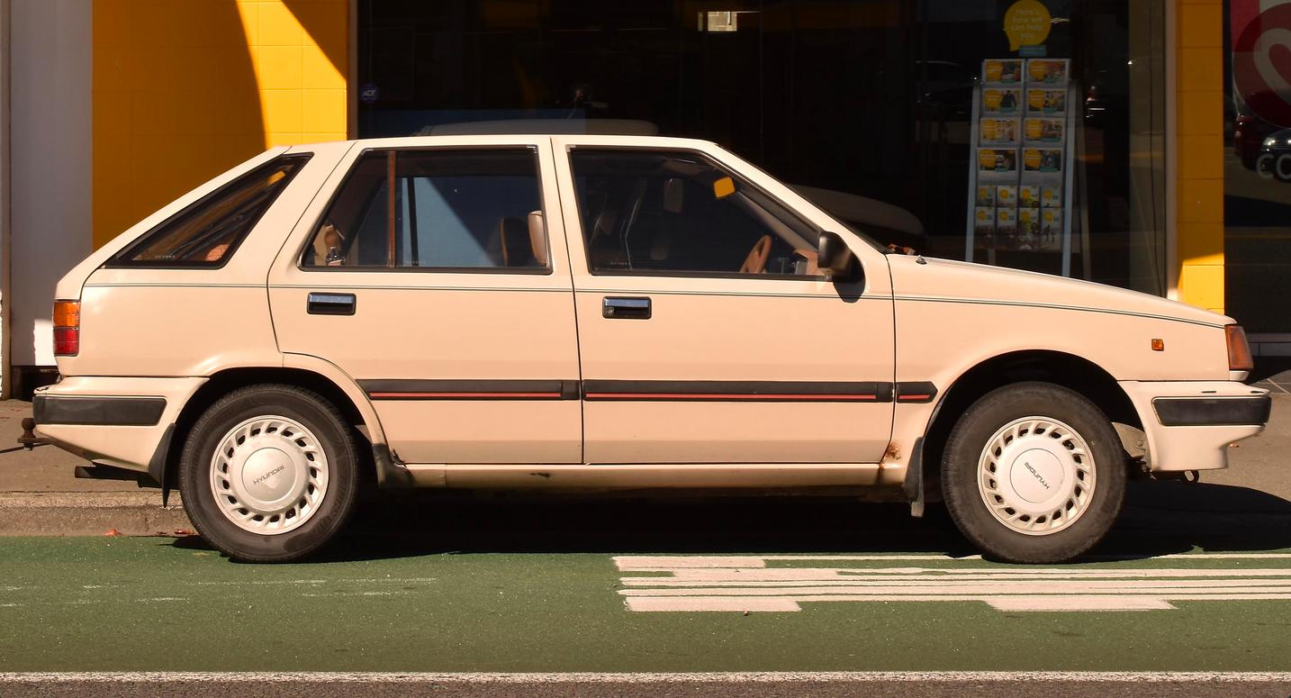 1989 Hyundai Excel Hyundai Suv Vehicles
