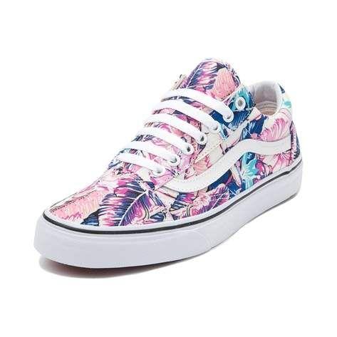 Vans Old Skool Tropical Skate Shoe