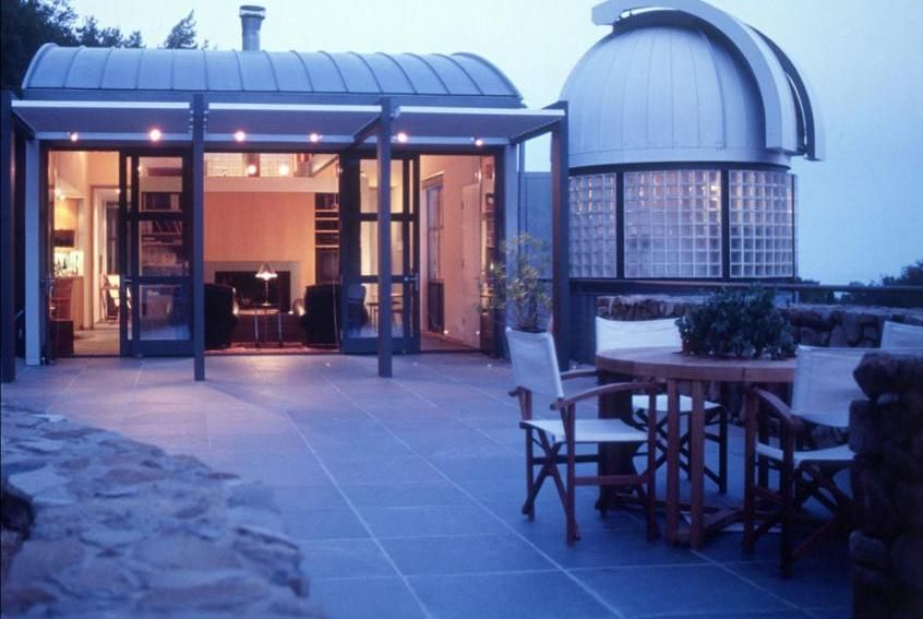 Modern House Observatory Dome Architectural Concept