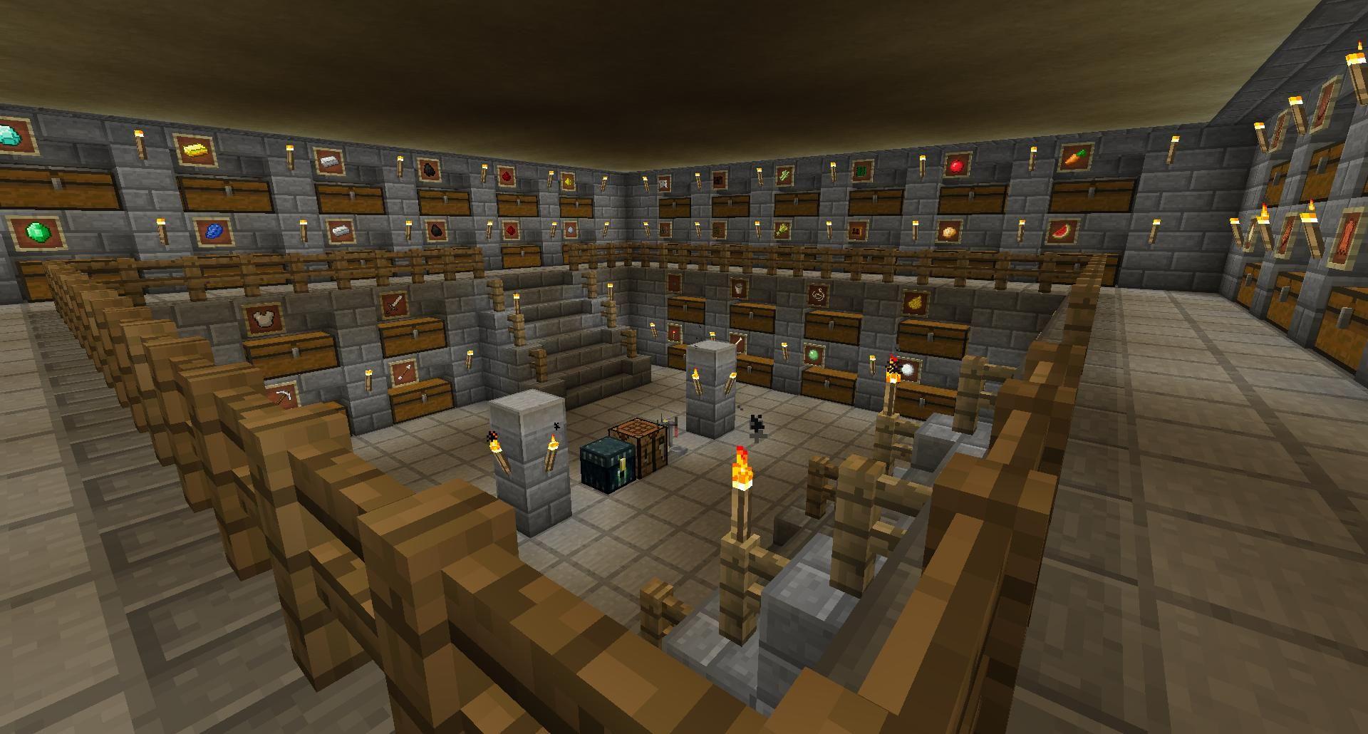 Spare Room Ideas Minecraft