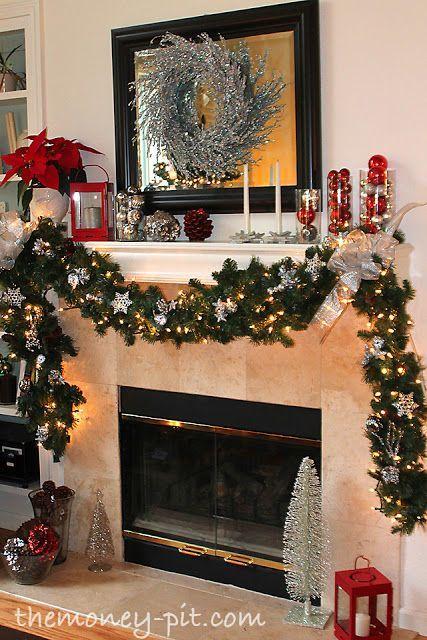 mas ideas para decorar la chimenea de tu casa en esta navidad hola chicas