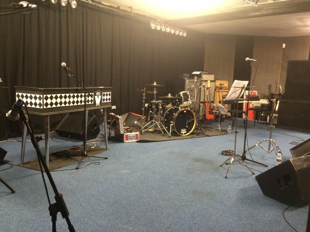 So the equipment is here, where did the band go? #Madhead