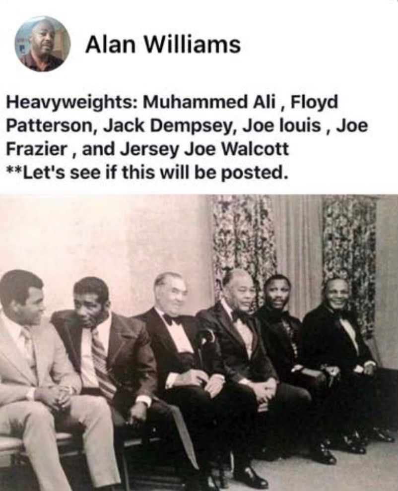 Pin by William Minix on BLACK HISTORY! Floyd patterson