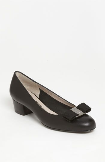 21b78a0c8592 Zappos.com is proud to offer the Salvatore Ferragamo - Vara (Nero Calf) -  Footwear  Love at first sight. Sweeten any introduction with the  captivating charm ...