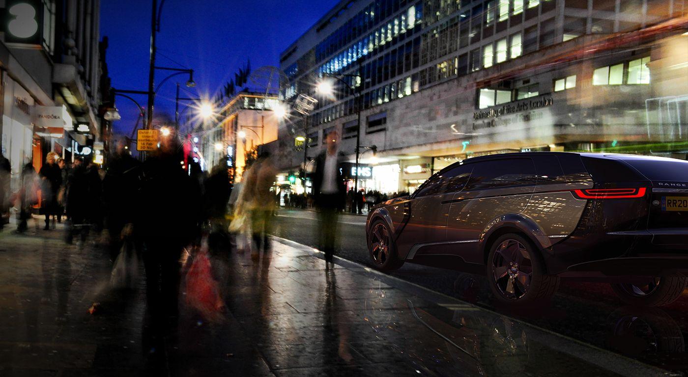 Range Rover Ascot on Behance