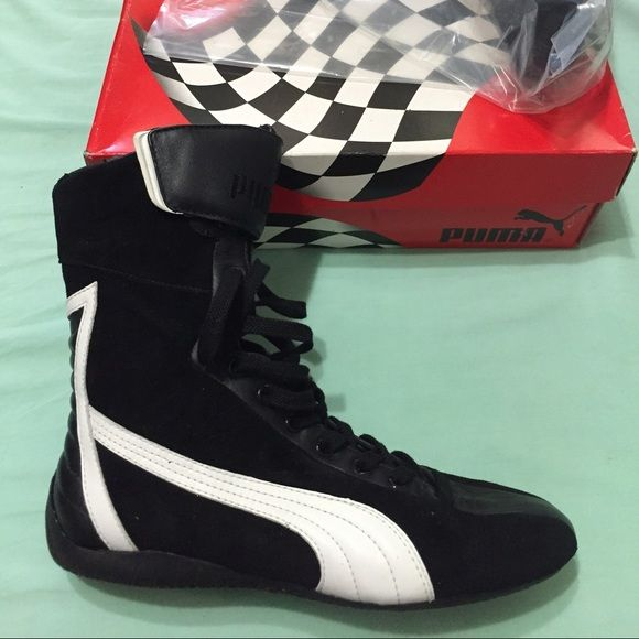 0e68c3ca0458 PUMA Athletic High Tops New boxing boots. These boots are a men s size  US8.  Could fit a women size 9.5 or 10. New without tags Puma Shoes Athletic Shoes