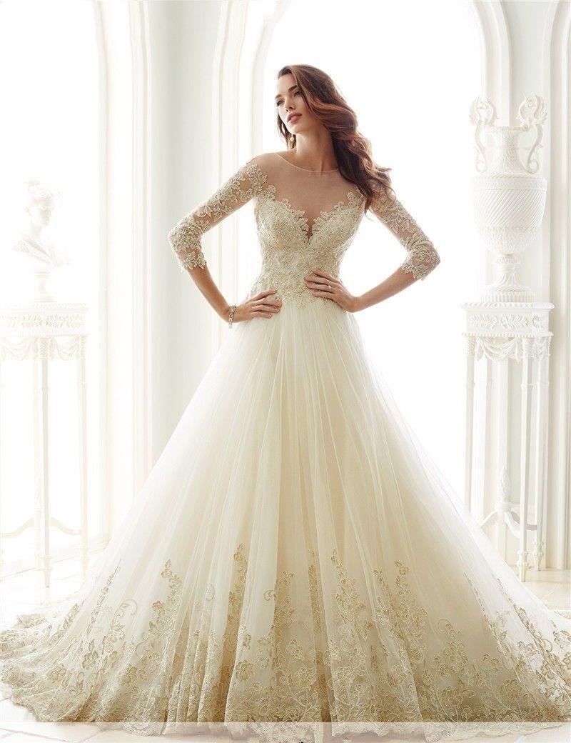 eb74c933e Encontrar Más Vestidos de novia Información acerca de Vestidos de Novia  China Vestidos de Novia Largo