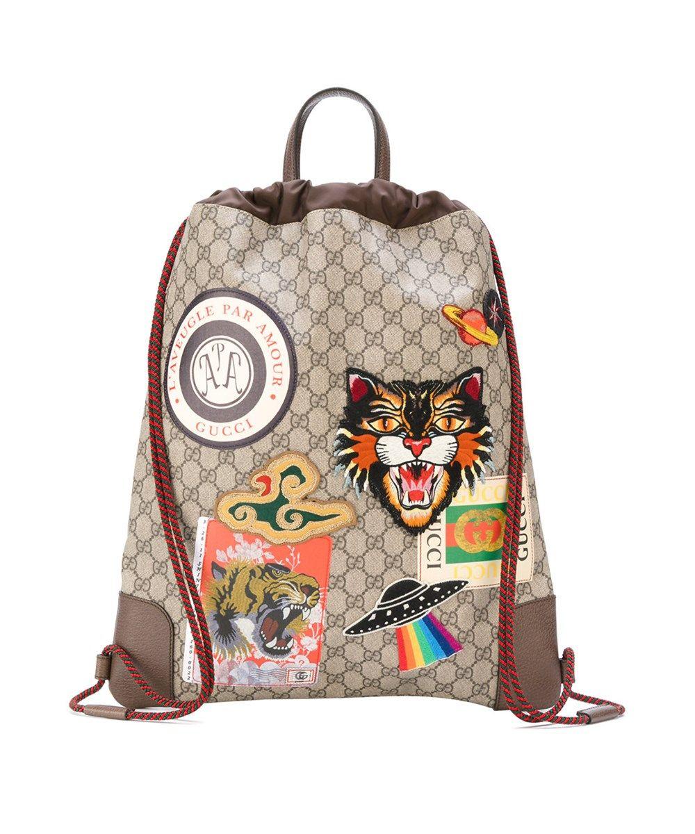 cd75fb4d1c9c GUCCI Gucci Men s Beige Pvc Backpack.  gucci  bags  pvc  backpacks ...