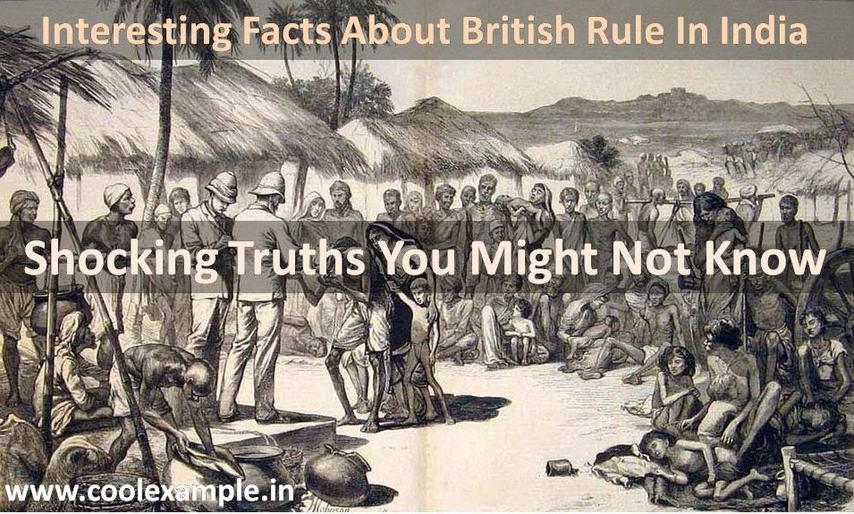 It has been over 400 years from now since British were ruling India, but still the history couldn't be forgotten. Here's some Interesting Facts about British Rule in India that you might not know. Apart from few good deeds, India has suffered devilish things while British were ruling it.