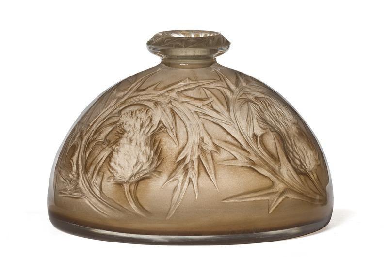 Lalique Vasechardons Centre De Documentation Des Muses Les