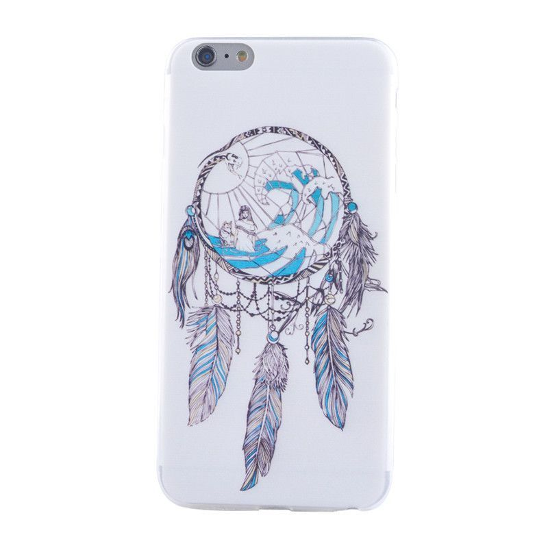 Ultra Thin Slim Silicone Soft Phone Covers Vintage Lace