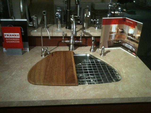 Franke Centennial sink displayed in Ferguson Showroom, Williamsburg ...