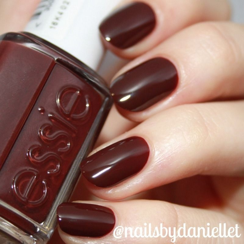 Nail Polish Colors Essie: Essie Chocolate Cakes Swatch By Danielle