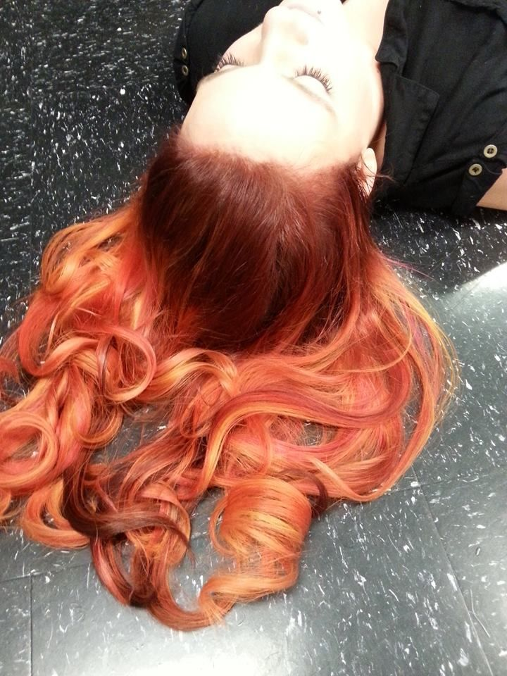 Amber Metcalf 2015 Show Us Your Vivids Contest Pravana Showusyourvivids Pravana Hair Color Cool Hairstyles Professional Stylist