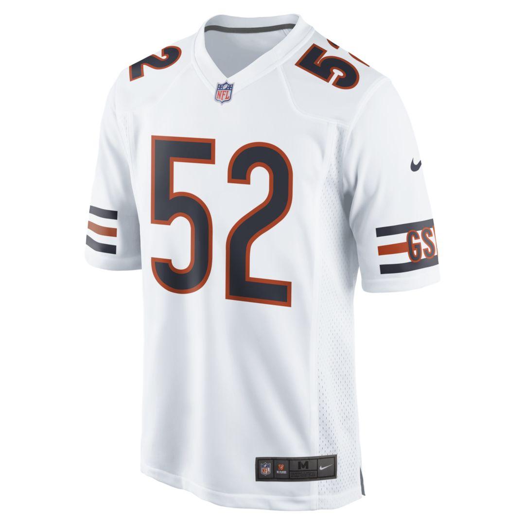 online store d21a4 cafdd NFL Chicago Bears (Khalil Mack) Men's Game Football Jersey ...