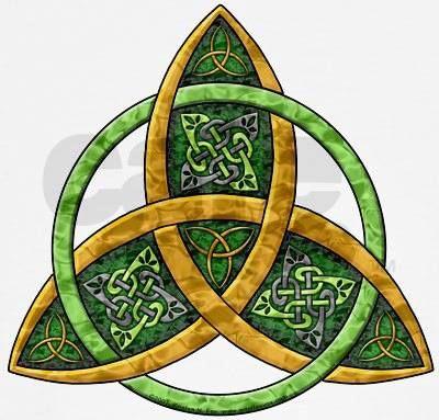 Triquetra Protection Symbol Creative Inspiration Pinte