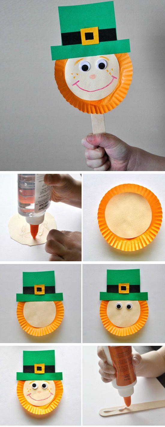 20 St Patricks Day Crafts For Kids To Make St Patric Pinterest