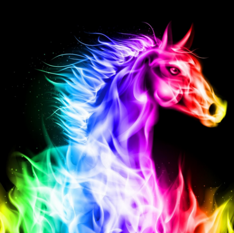 Flame horse Flame Animals and Flame Art Pinterest