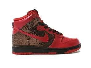 Nike WMNS Dunk High BlackGold Glitter