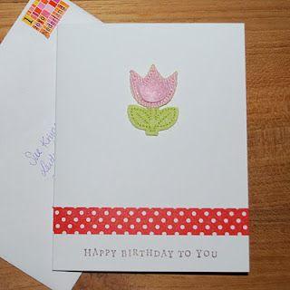 Cards Tulip