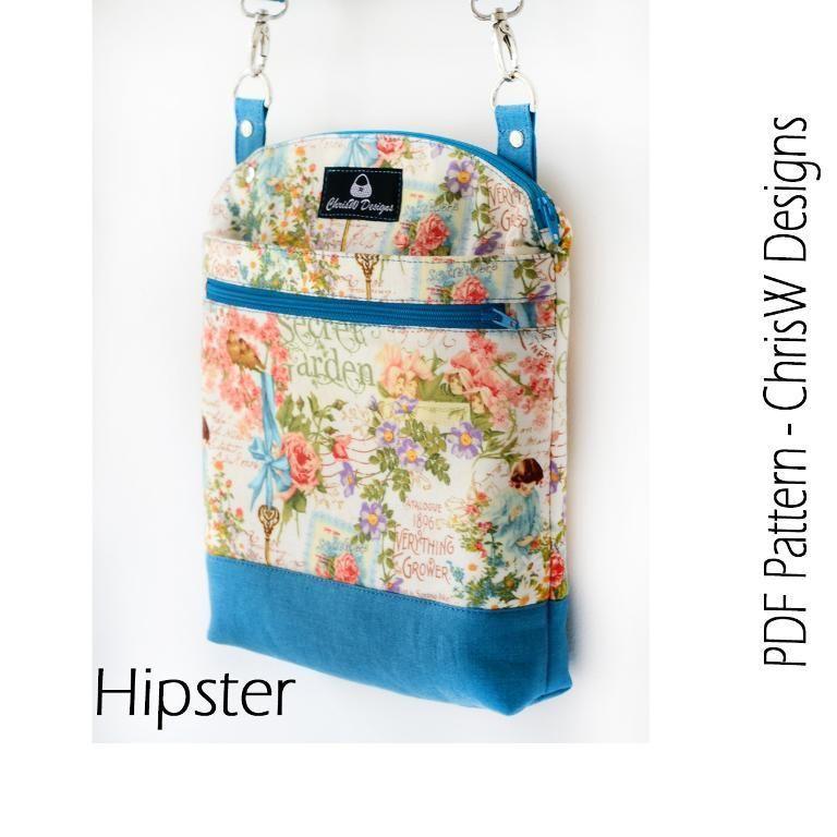 Serendipity Hip Bag - ChrisW Designs | Serendipia, Teléfonos y Costura