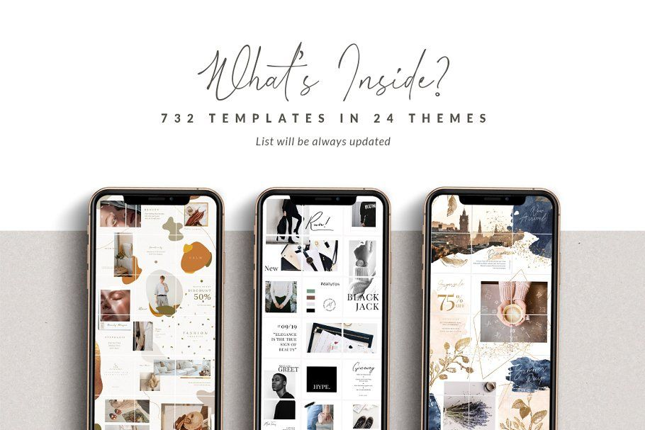 PUZZLE Bundle Instagram PS & Canva in 2020 Canva