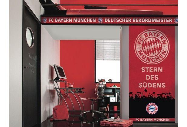 FC Bayern München Fans aufgepasst! Diese trendige Fototapete mit dem