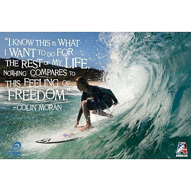 Surf Mural Poster Surfing Quotes Surfing Quotes That Describe Me
