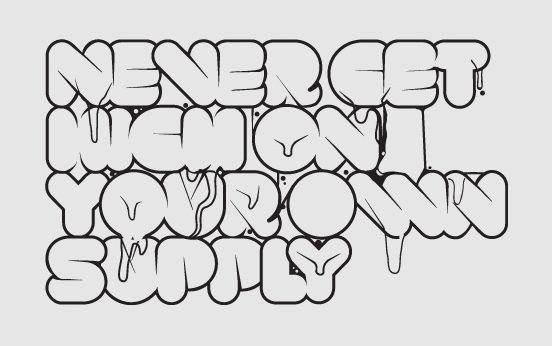 Graphic Design Junction   Remarkable Font Typography Designs