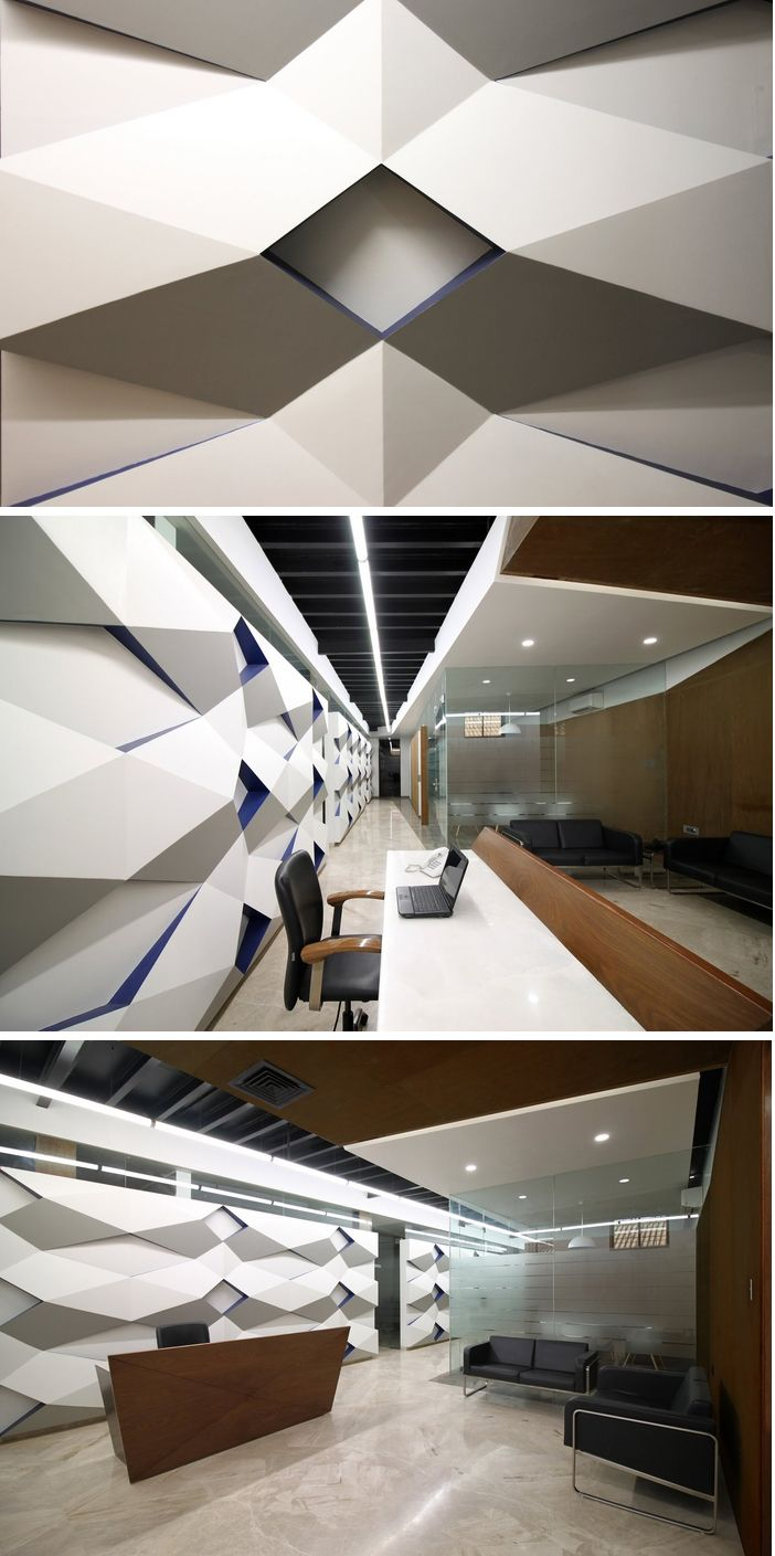 office wall murals. Office With Wall Mural Create A Uniform Aesthetic #pattern #wall #mural # Murals