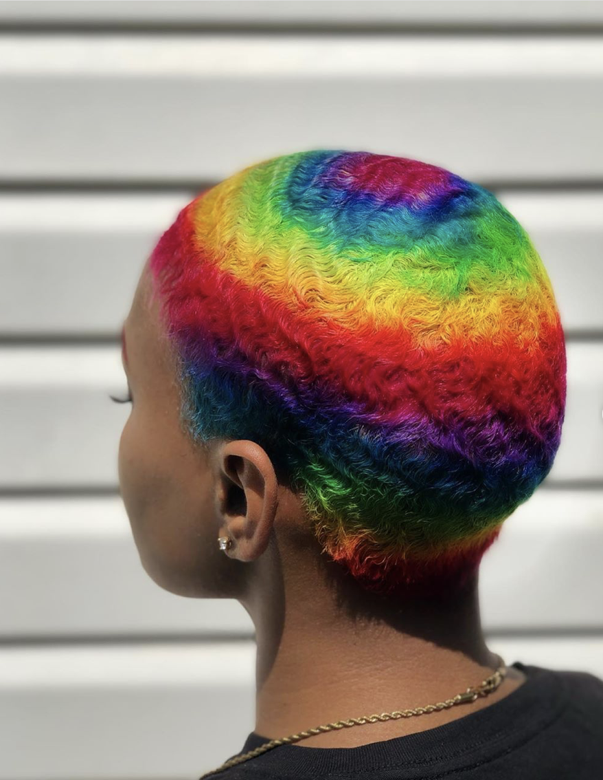 The Best Pride Beauty Looks In 2020 Shaved Hair Designs Hair Styles Hair Color